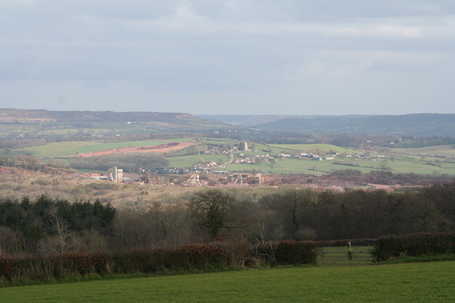 Holcombe Rogus: towards Westleigh Quarry