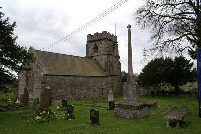 St Mary's Church, Llanwern