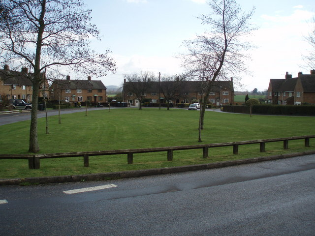 Council Houses in Bishop's Lydeard.