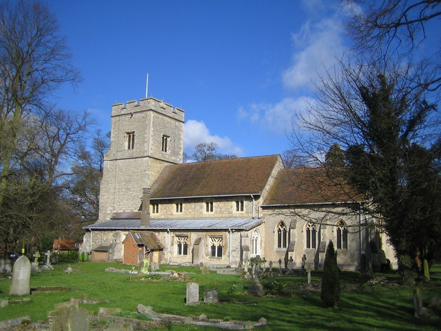 Weston Turville: The Church of St Mary the Virgin