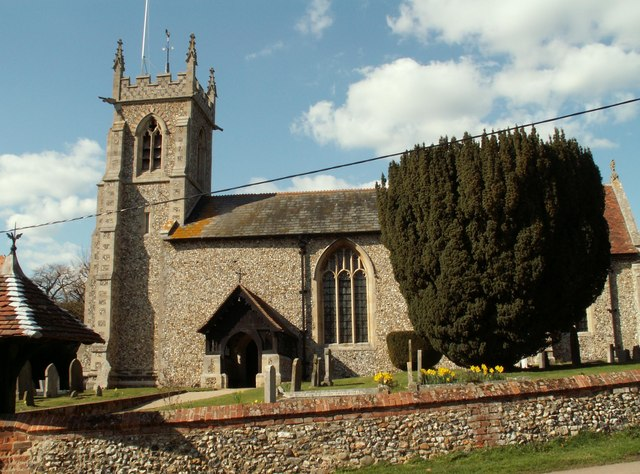 St. Mary's church, Widdington, Essex