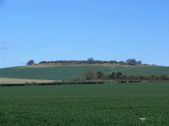 Quarley Hill - Iron Age Fort