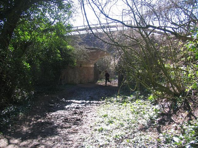 Railway Bridge over Georgia Lane