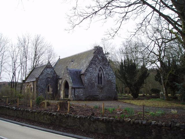 The Holy Trinity Church, Lamington, South Lanarkshire