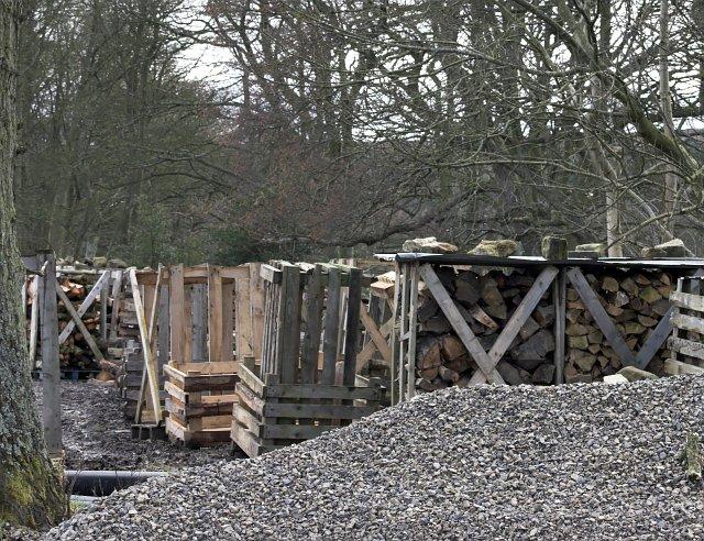 Log storage at Botton