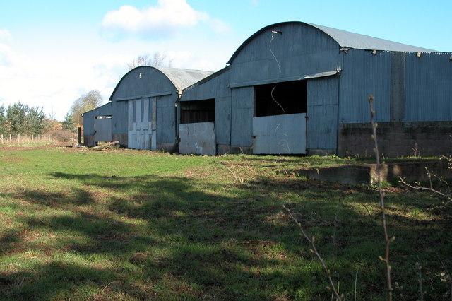 Farm buildings opposite Ashe Ingen Court