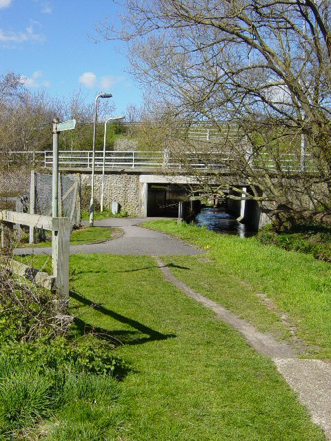 Stream and the A27, Havant