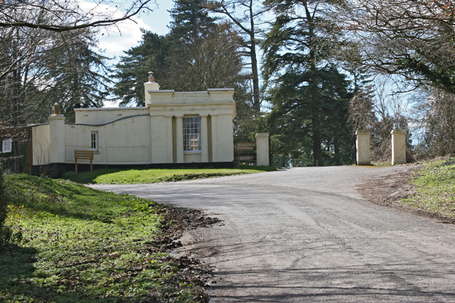 Entrance to Brockwood Park School