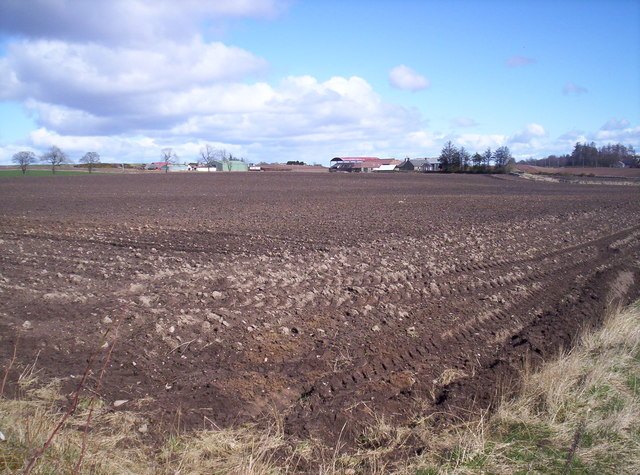 Ploughed Field with Bog of Pitkennedy