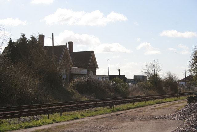 Gosberton Railway Station