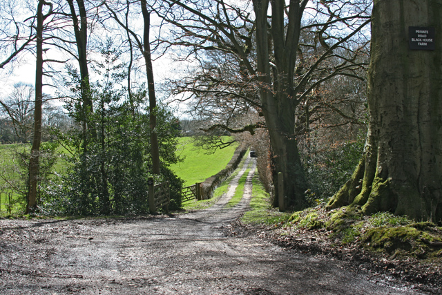 Entrance to Black House Farm