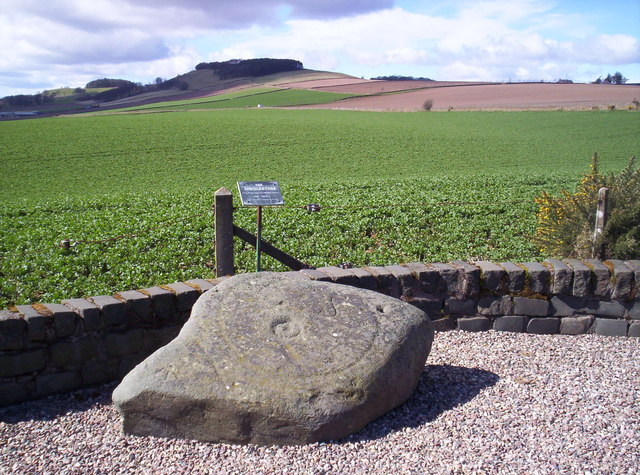 Girdlestane with Dunnichen Hill Behind