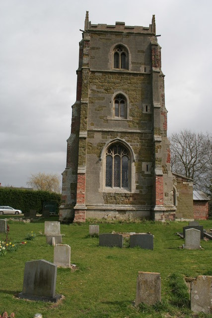 The tower at Orby Church, Lincs