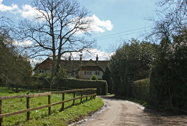 Houses near Marldell Farm