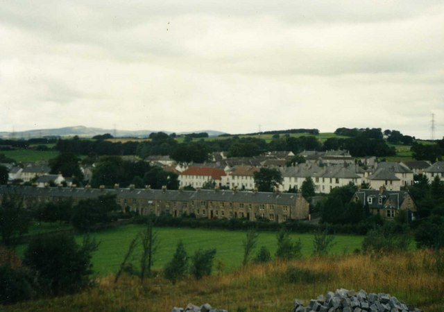 View of Kilbarchan from Quarry