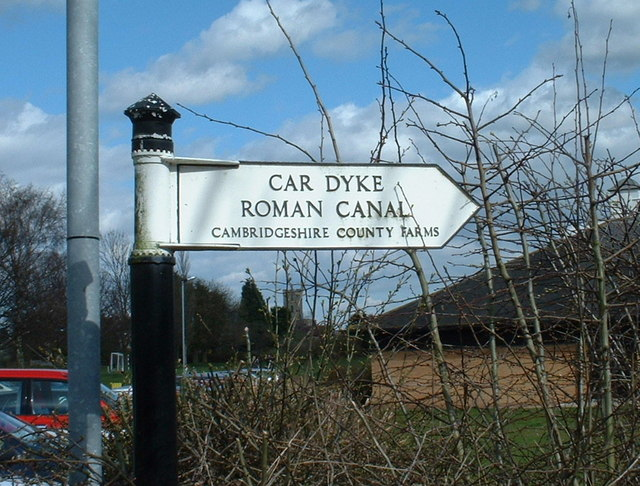 Signs to Car Dyke