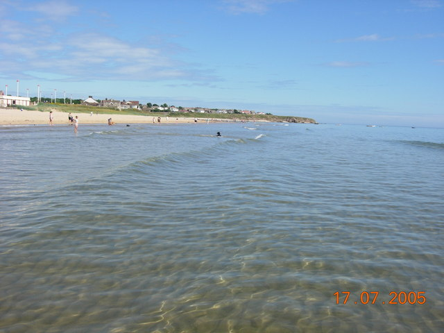 Roker beach in July