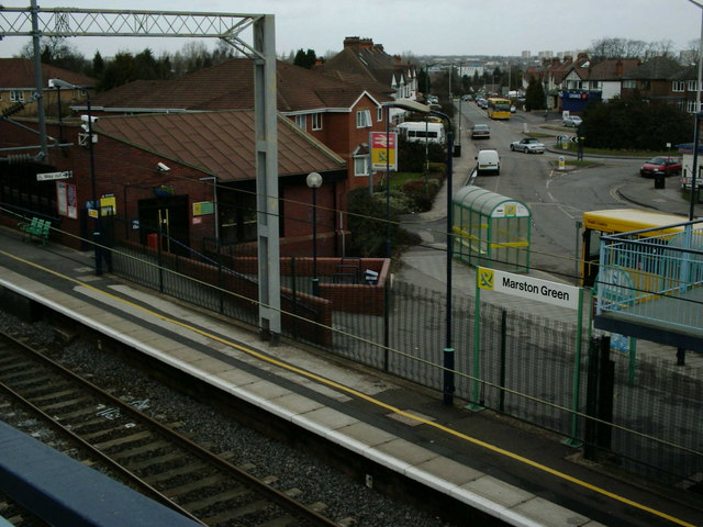 Marston Green Railway Station