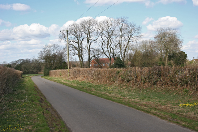 Road near Charlwood