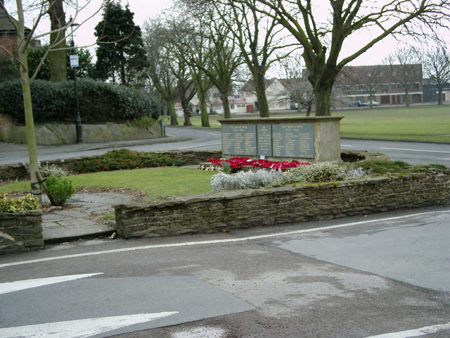 Castle Bromwich war memorial