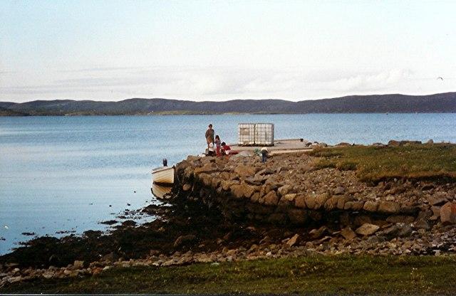 Hildasay Pier