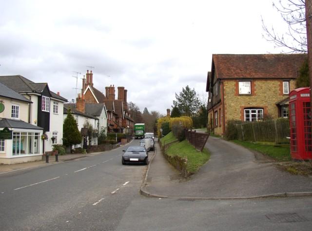 The A248 through Albury