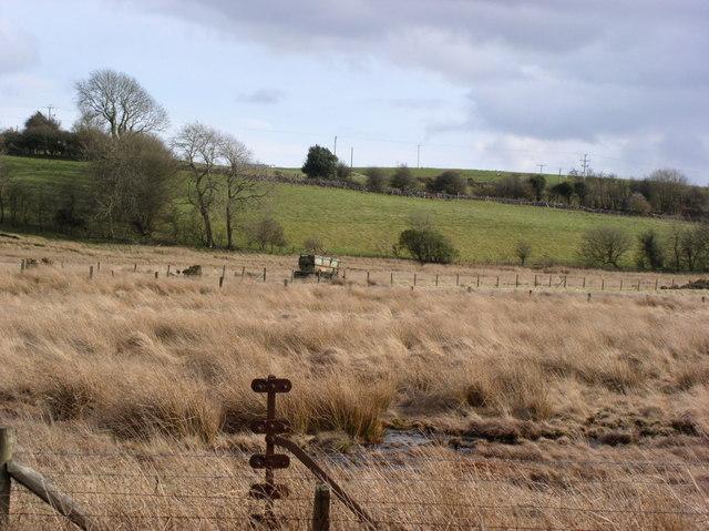 Peat bogs near Llandegla