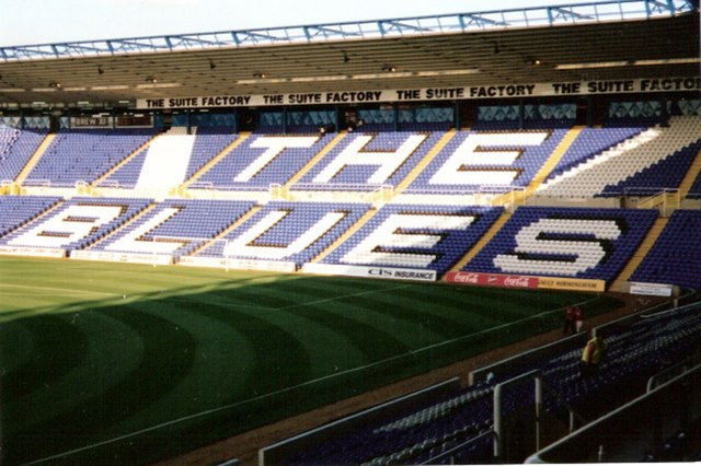 St Andrews home of Birmingham City FC