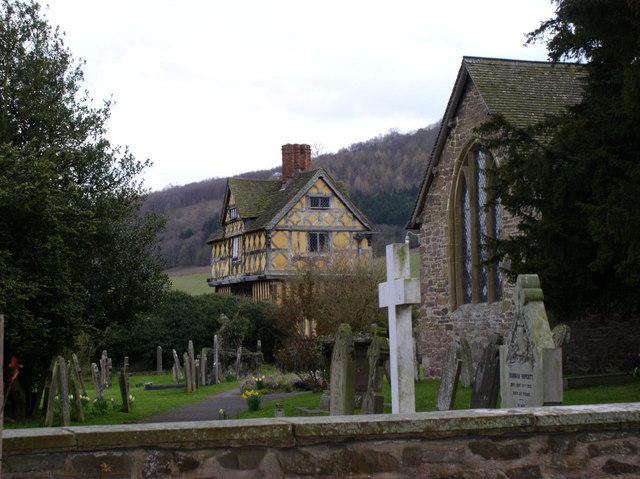 Churchyard at St John the Baptist, Stokesay