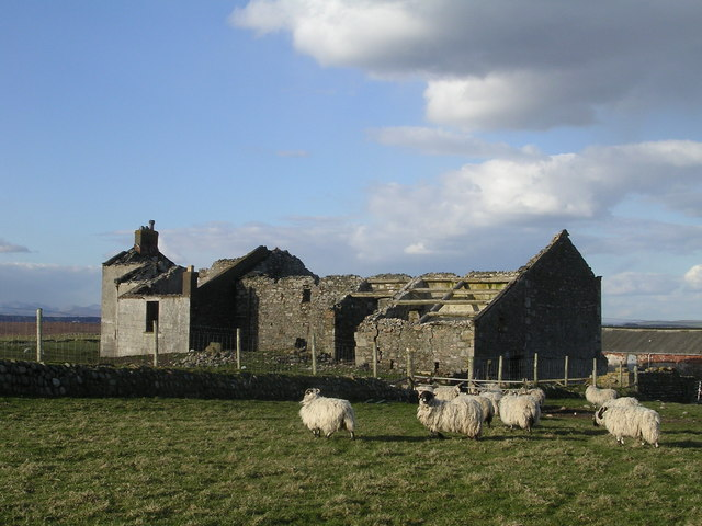 Ruined Farmhouse on South Walney Island