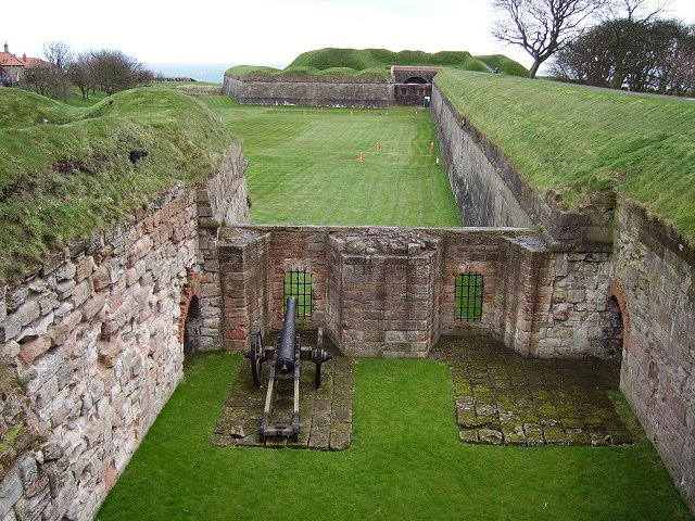 Berwick town walls.