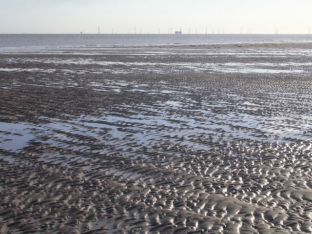 Mud Flats, South Walney Island