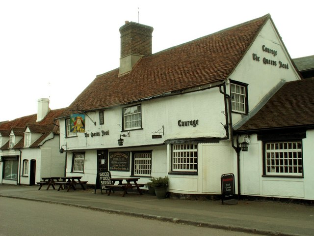 'The Queen's Head' inn, Harlow, Essex