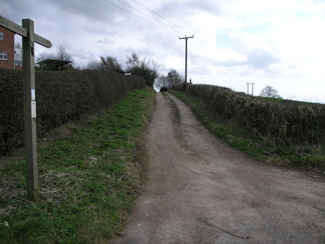 Footpath to Brinsley