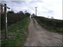 SK4650 : Footpath to Brinsley by Michael Patterson