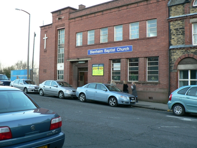 Blenheim Baptist Church, Blackman Lane
