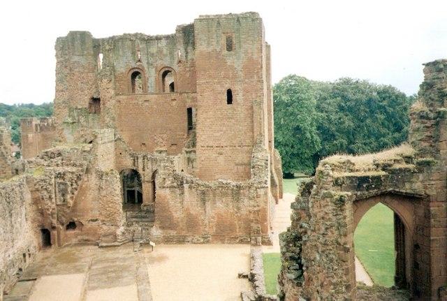 Inside Kenilworth castle