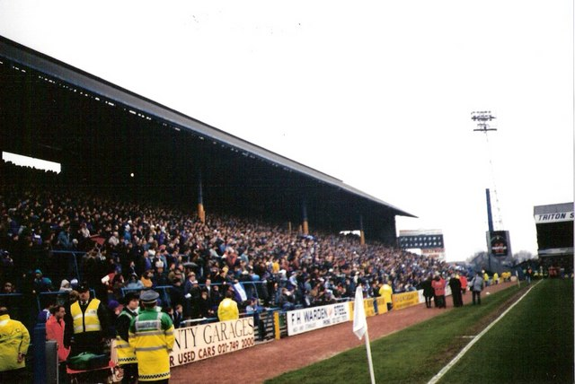 Spion Kop at St Andrews