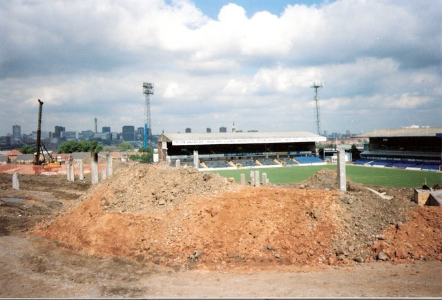 St Andrews home of Birmingham City FC.
