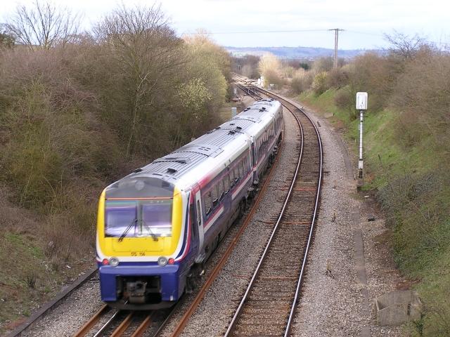 Hereford to Shrewsbury line