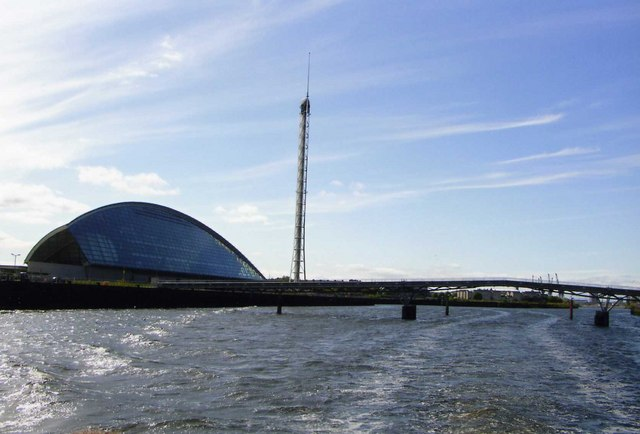 View of Science Centre from  River Clyde