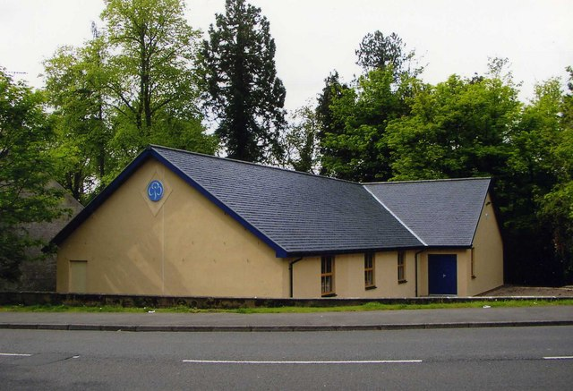 New guide building, Barn Green, Kilbarchan