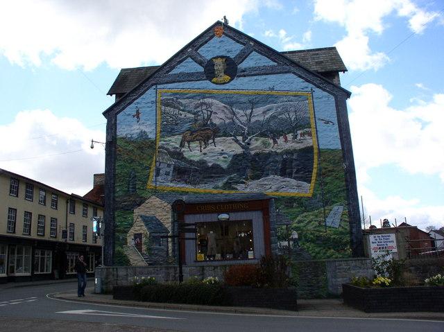 Llywelyn Mural