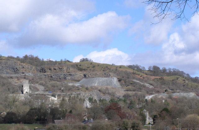 Llanelwedd Stone Quarry