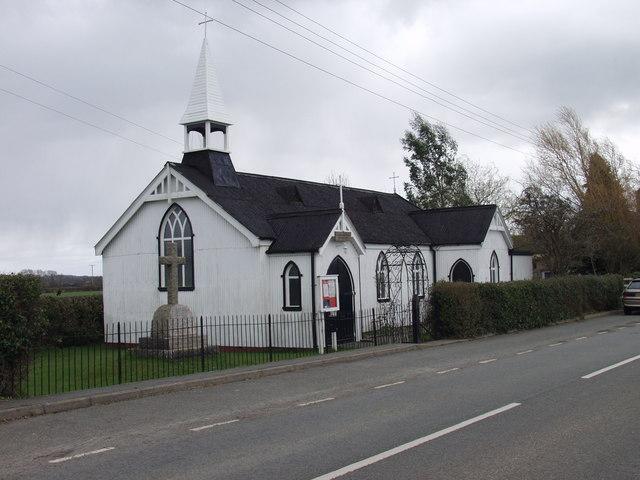 Tin Chapel at Maesbury