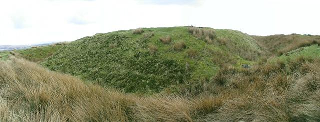 Penlle'r Castell settlement, Betws Mountain