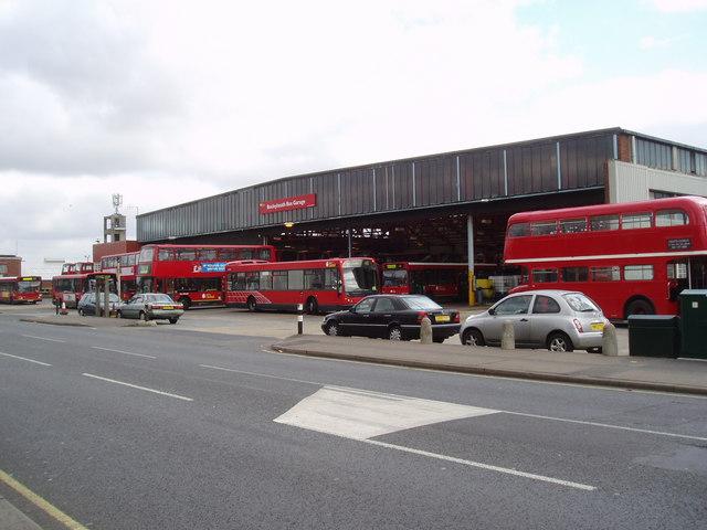 Bexleyheath Bus Garage