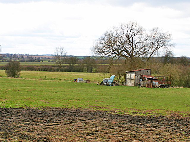 Farmland near Teigh