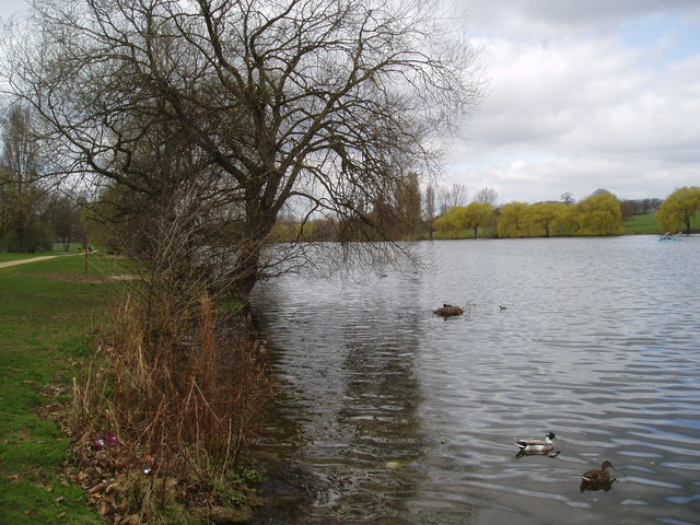 Danson Park Lake, Bexley, Kent