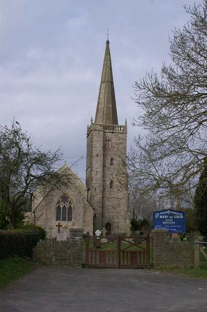 St Mary the Virgin Church at Nash